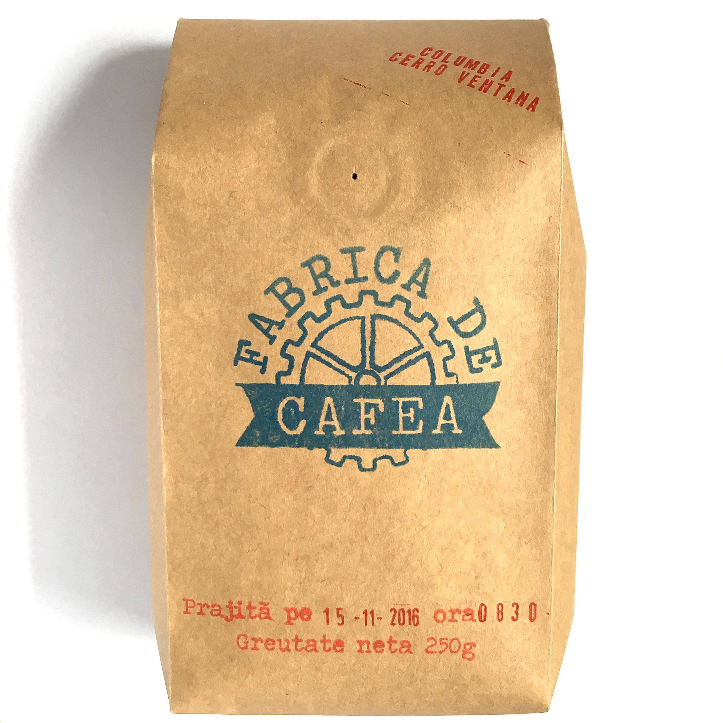 Cafea Columbia Cerro Ventana  250 G
