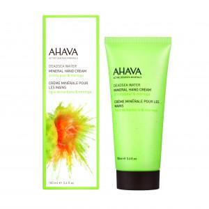 Crema de maini Ahava Mineral Hand Cream floare de cactus si moringa 100ml