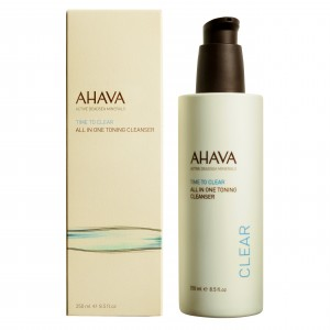 Crema de curatare a pielii Ahava All In One Toning Cleanser 250ml
