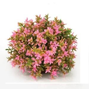Minge de flori roz decorativa