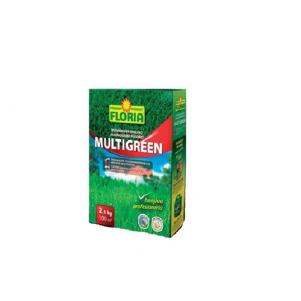 Ingrasamant Pentru Gazon Multigreen Cu Actiune Indelungata 2 5 Kg Floria