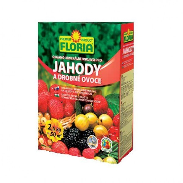 Ingrasamant Organic Pentru Capsuni 2 5 Kg Floria