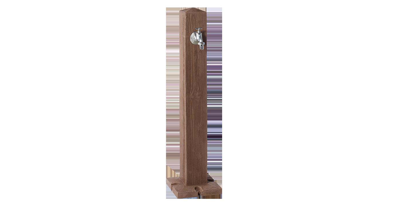 Cismea Apa Tip Stalp Cu Robinet Wood  Culoare Lemn Inchis