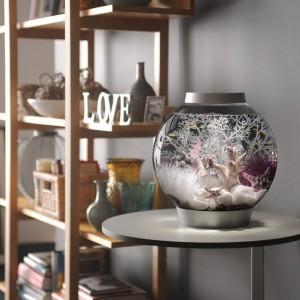 Set complet acvariu cu decoratiuni BiOrb Classic 15 litri LED, Argintiu