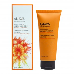 Crema de maini Ahava Mineral Hand Cream cu mandarine si cedru 100ml
