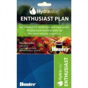 Card activare cont Hydrawise Enthusiast