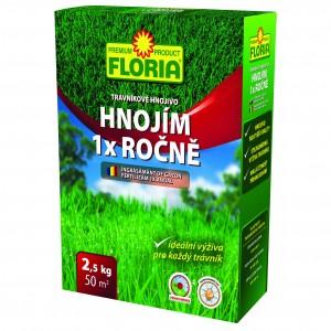 Ingrasamant pentru gazon anual cu actiune indelungata Floria 2,5 kg