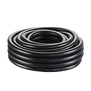 Furtun spiralat negru Oase 1 ¼'', 25 m