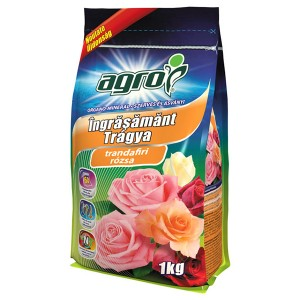 Ingrasamant organo-mineral pentru trandafiri Agro, 1 kg