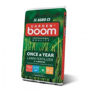 Ingrasamant pentru gazon Garden Boom Once a Year, 15 kg