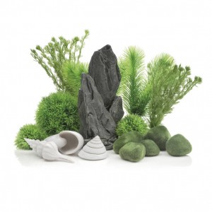 Set de decor acvarii 30 litri biOrb Stone Garden