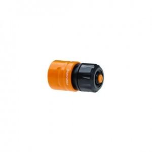 """Conector furtun de gradina cu STOP Fiskars, 13-15mm (1/2""""-5/8"""")"""