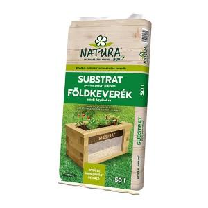 Substrat pentru jardiniere Natura, 50 litri, strat 3