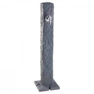 Cismea apa tip stalp cu robinet Granite, culoare granit inchis