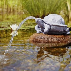 Figurina Oase cu joc de apa, broasca testoasa