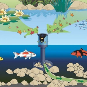 Skimmer pentru iazuri Oase AquaSkim 40