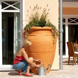 Rezervor apa pluviala Antique Amphora Terracotta