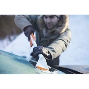 Racleta gheata si perie zapada masina Fiskars SnowXpert