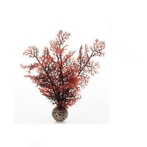 Decoratiune coral rosu mic