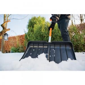 Impingator zapada Fiskars SnowXpert Pusher negru