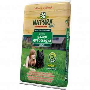 Ingrasamant organic pentru gazon Natura, 8kg