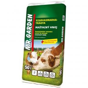Ingrasamant organic cu balegar mranita Mr Garden, 50 litri