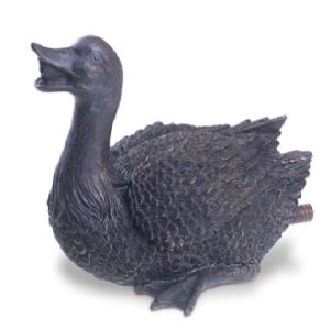 Figurina Oase cu joc de apa, Rata