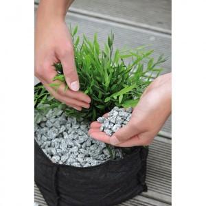 Cos rotund textil pentru plante acvatice Oase