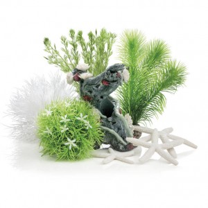 Set de decor acvarii 15 litri biOrb Flower Garden