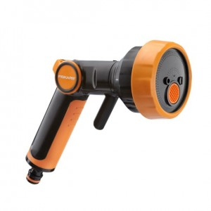 Pistol pentru furtun de gradina Fiskars, 4 functii