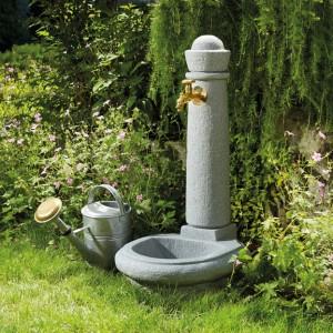 Cismea apa tip fantana cu robinet Venezia, culoare granit