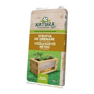 Substrat drenare pentru jardiniere Natura, 70 litri, strat 1