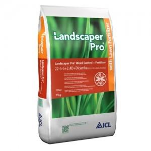 Ingrasamant cu erbicid Landscaper Pro Weed Control Dicamba 15 kg
