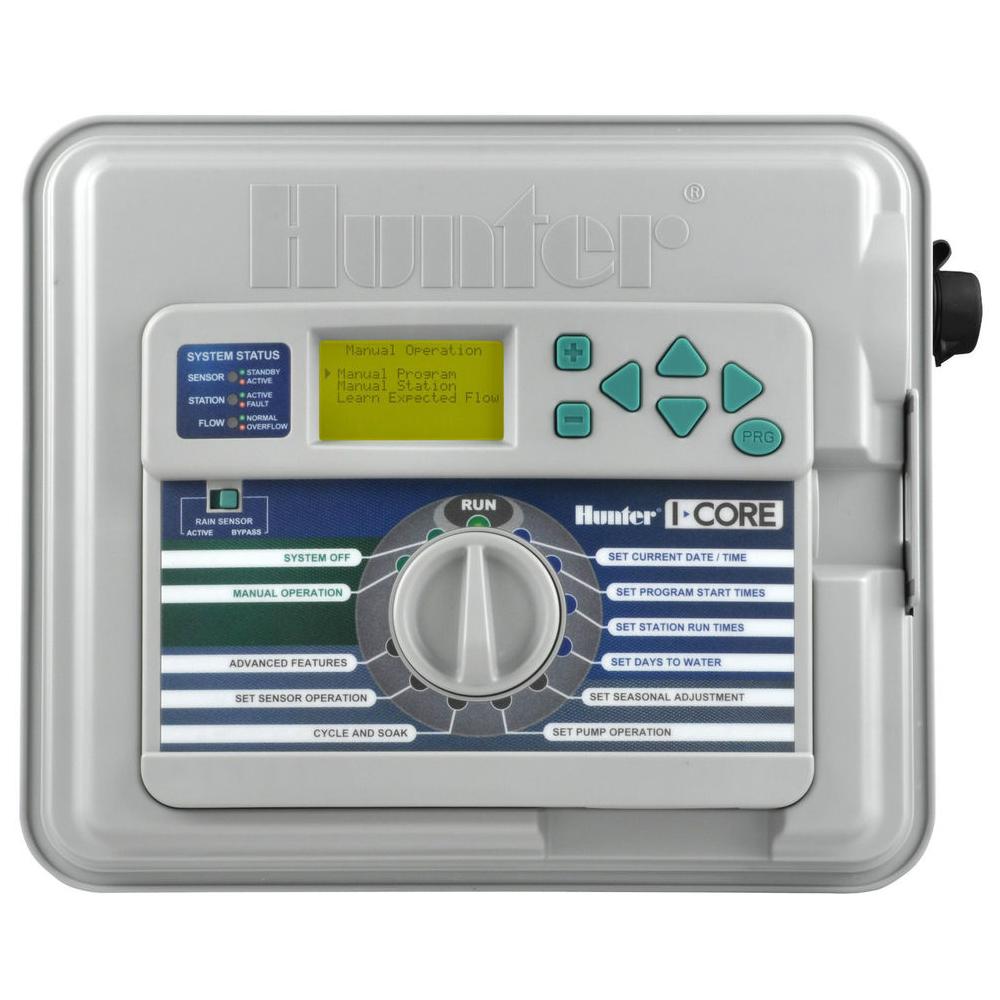 Controller modular Hunter I-Core 6 zone cu piedestal